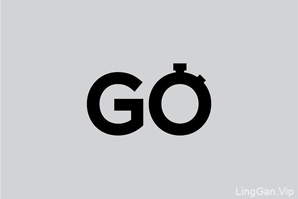 瑞典创意英文单词象形LOGO设计NO.1
