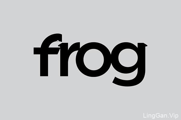 瑞典创意英文单词象形LOGO设计NO.3
