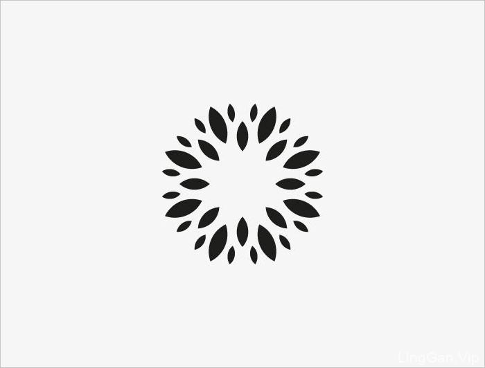 20款简约漂亮的黑白LOGO设计图