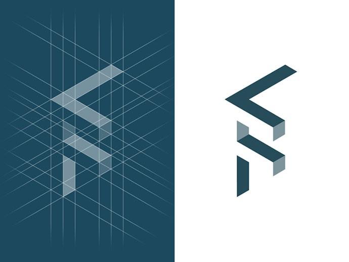 24款Isometric风格标志设计