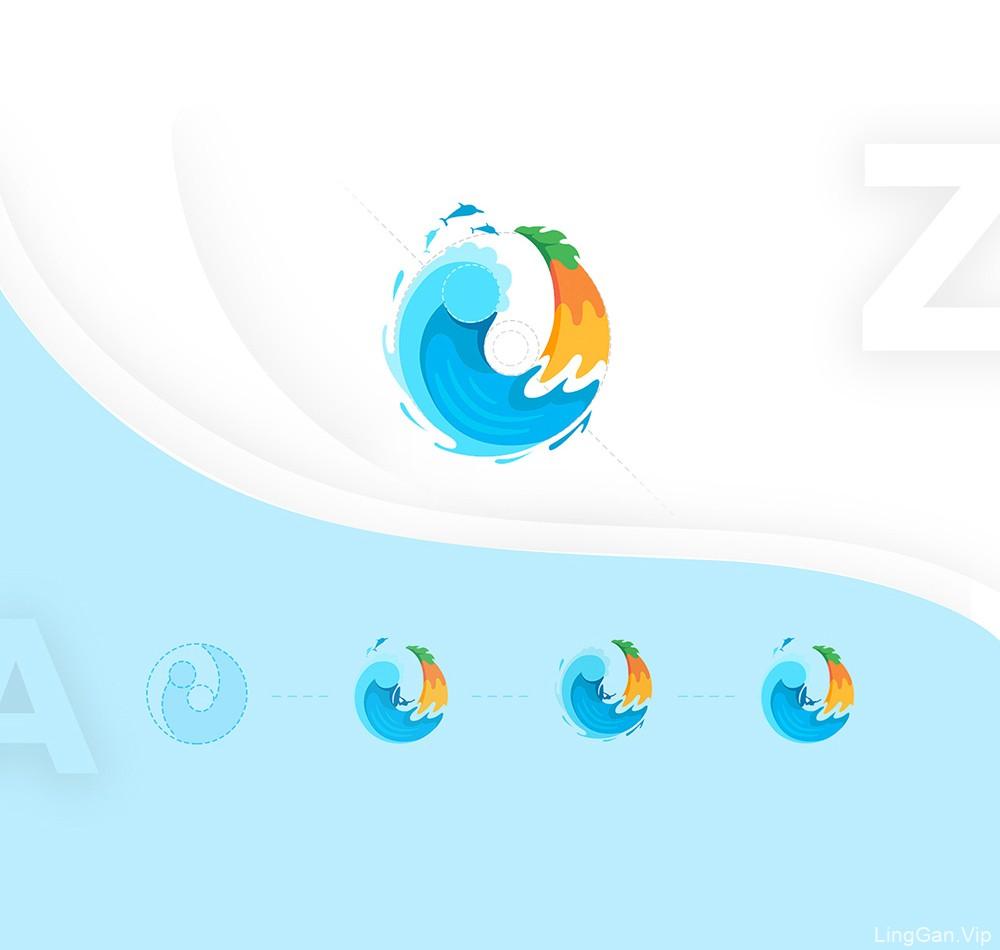 平面更立体!9款矢量绘画Logo设计