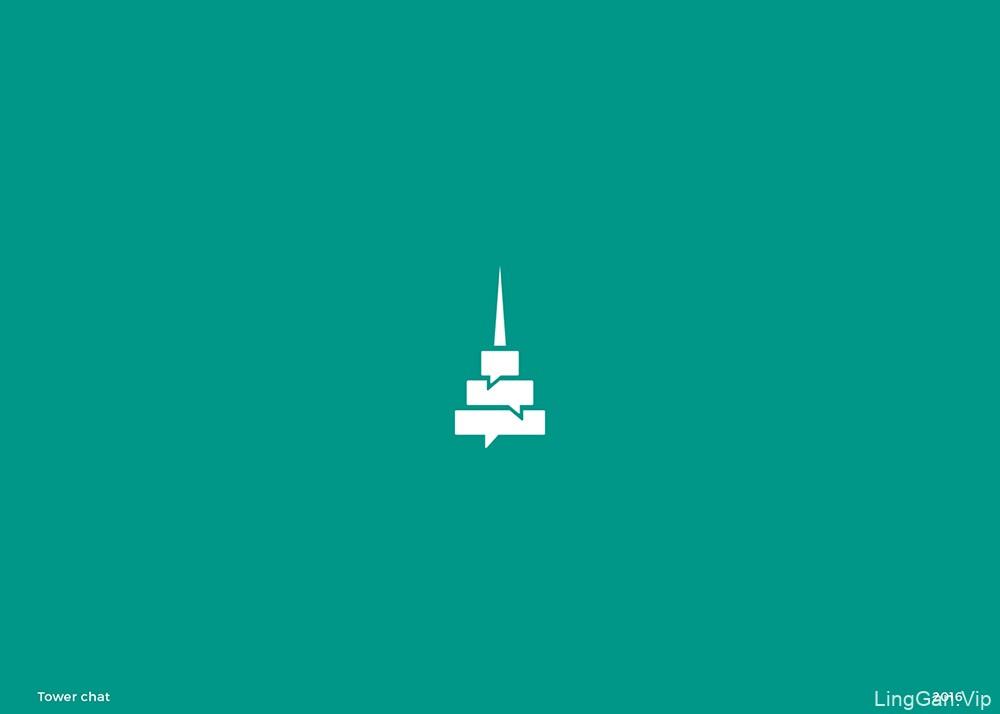 高阶高产!48款创意图形Logo设计