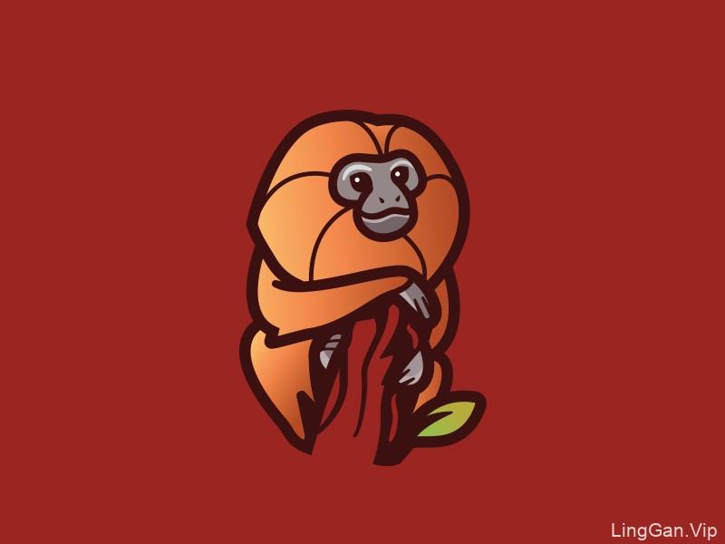 Q趣萌物!24款卡通形象Logo设计