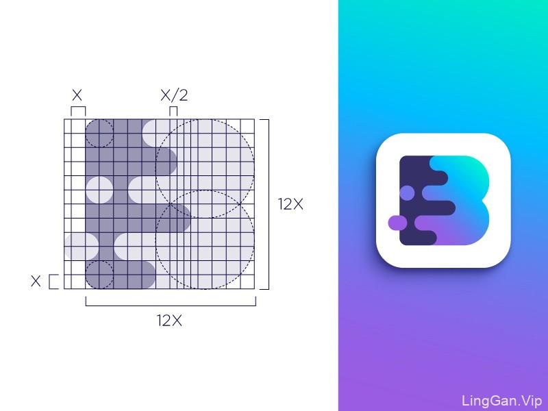 网格系统!22款网格表现Logo设计