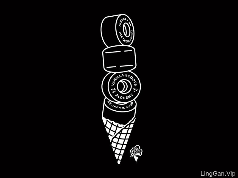 趣味小品!20款独特创意Logo设计