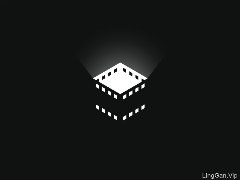 胶片镜头!46款电影元素Logo设计