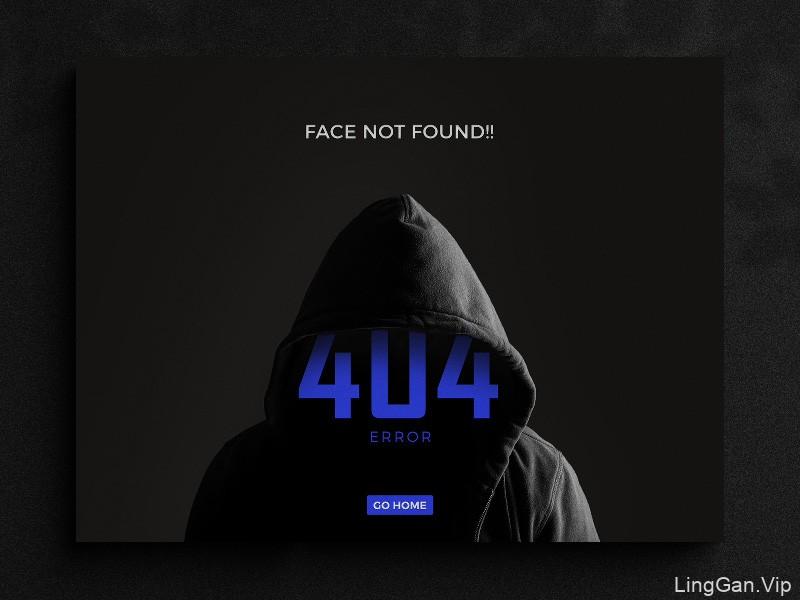 错误创意!12组404界面设计灵感