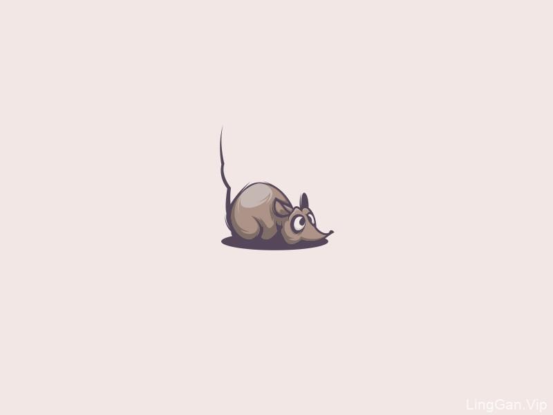 鼠年大吉!38款小鼠元素Logo设计