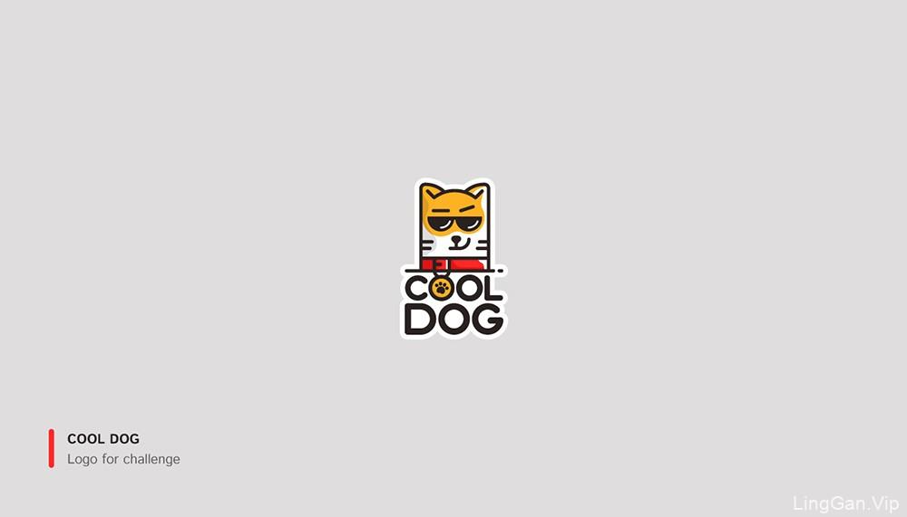 简洁展示!19款色彩强烈Logo设计