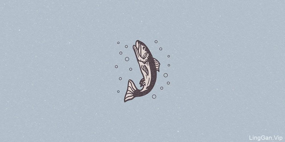 民族风情!20款插画风Logo设计