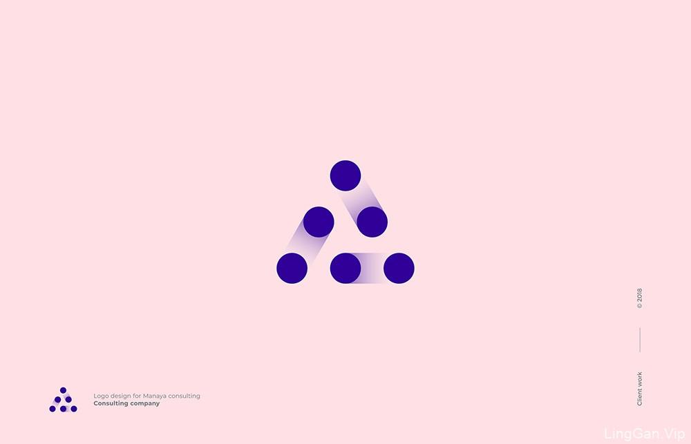大气简约!20款趣味创意Logo标志设计