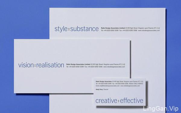 为设计师们推荐的经典现代风格名片