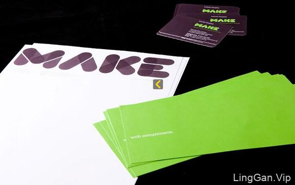 英国MAKE公司现代名片设计鉴赏