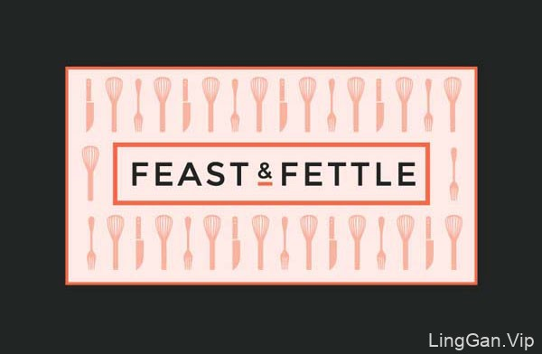 20套国外餐饮行业的个性名片设计欣赏