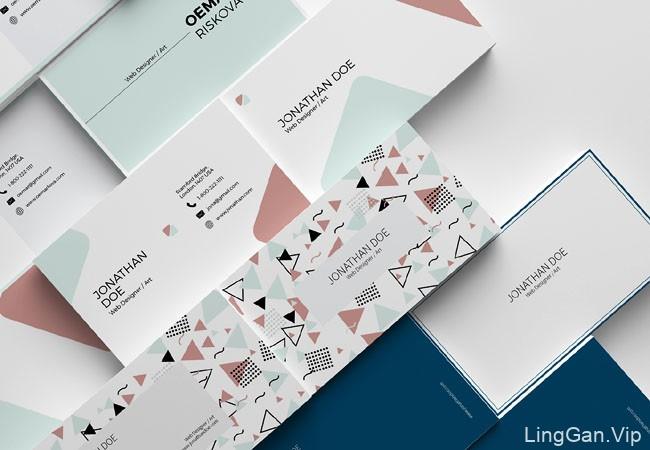 TimphanCo简约时尚的名片设计作品赏析