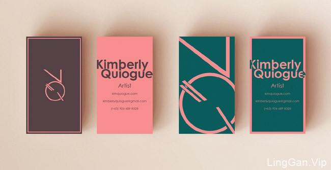 菲律宾设计师Kimberly个人名片欣赏
