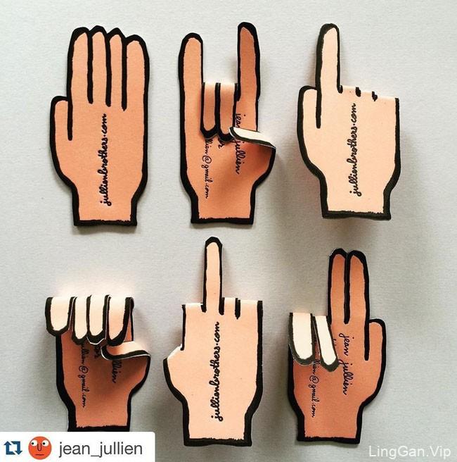 加拿大设计师Jukebox Print个性名片设计