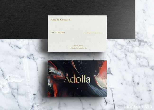Adolla摄影工作室创意名片设计赏析