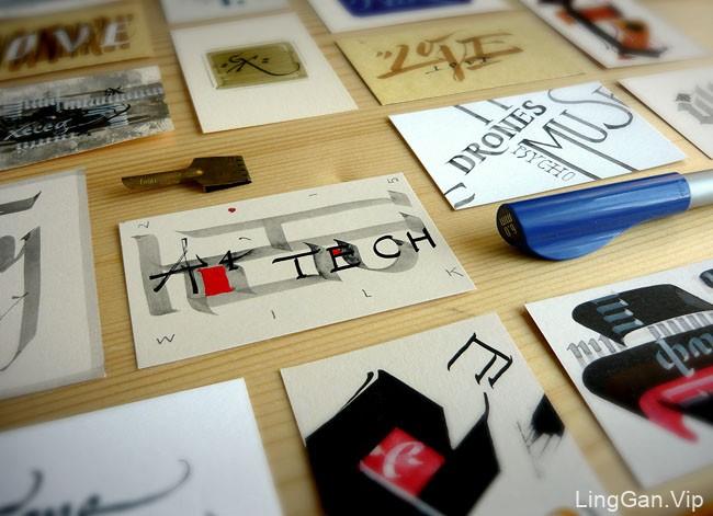 Simeon Zhelev手工个性名片设计欣赏