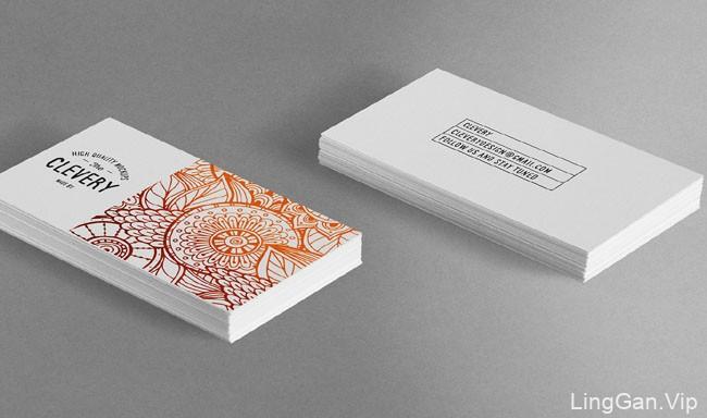 乌克兰Clevery创意名片设计欣赏