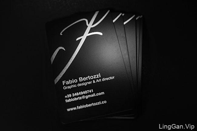 意大利设计师Fabio Bertozzi个人名片设计