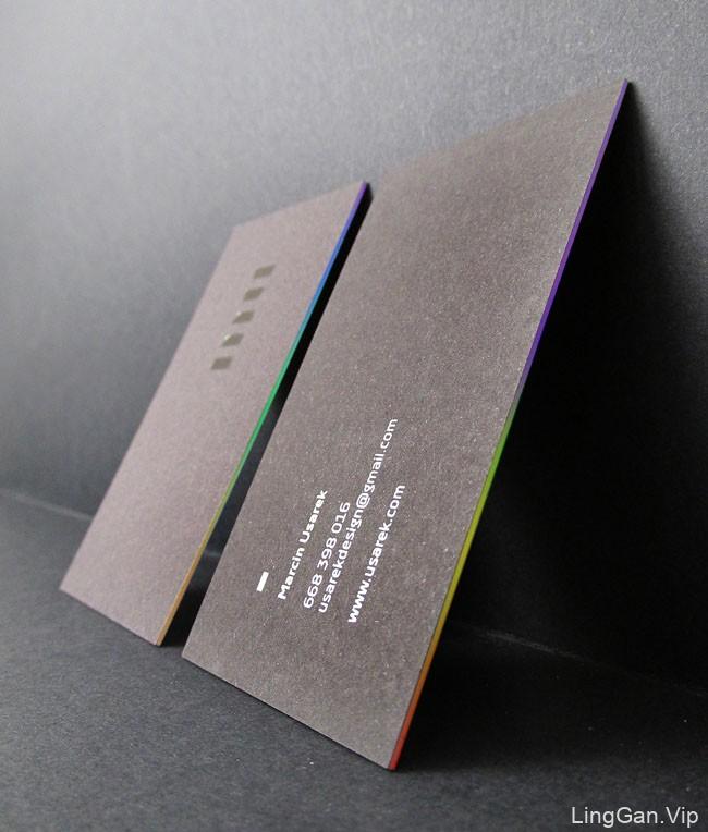 波兰设计师Marcin Usarek个人名片设计欣赏