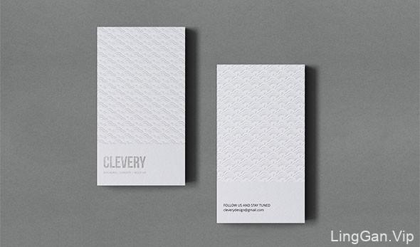 乌克兰Clevery商务名片设计欣赏