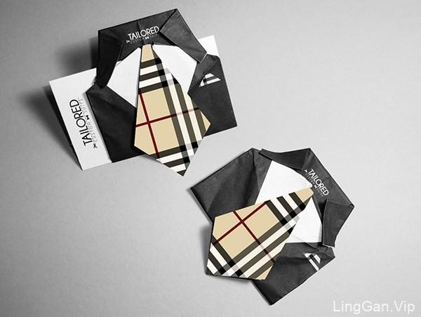 25款漂亮的创意折叠名片设计