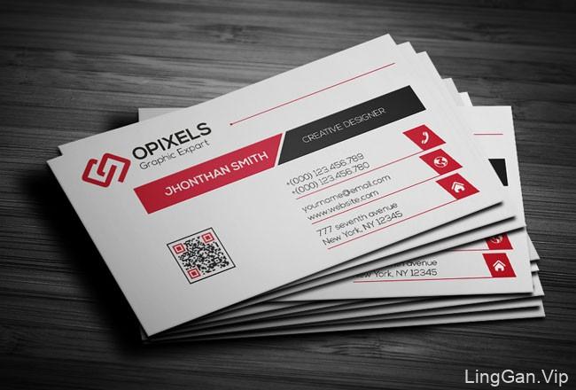 OPIXELS工作室企业名片设计欣赏