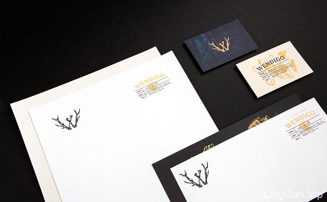 Wendigo影视制作机构名片设计