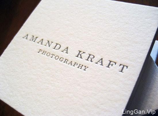 精致的摄影师创意名片欣赏