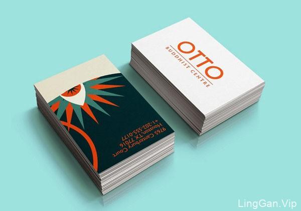 西班牙OTTO佛教中心名片设计欣赏