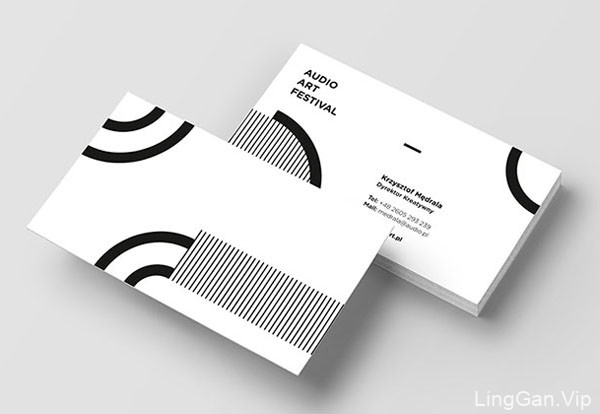 13款简约风格的商务名片设计欣赏