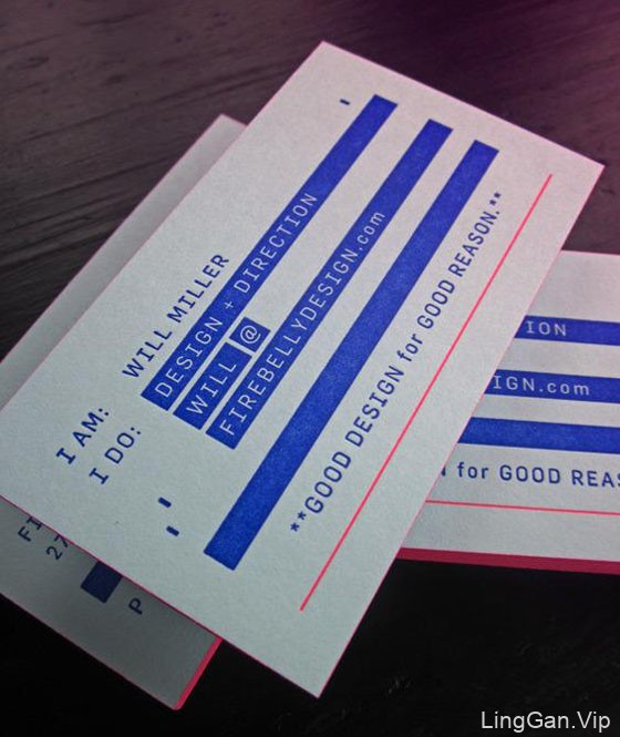 20款优秀的商业名片设计欣赏