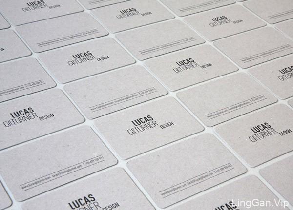 Lucas GilTurner工作室名片设计赏析