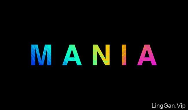 国外MANIA品牌彩色名片设计