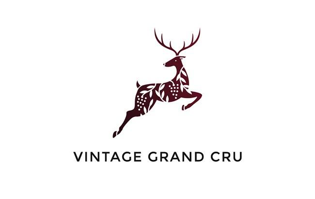 Vintage Grand Cru在线葡萄酒商店精美名片设计