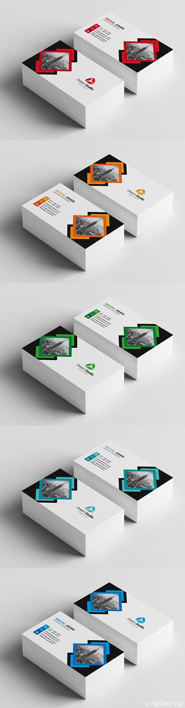 埃及设计师MohamedSalama商务名片模版设计