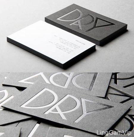 24张精美的凸版名片案例设计欣赏