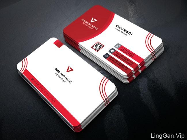 国外设计师Akter Hossain的几款创意的商务名片设计