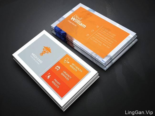国外设计师Creative Idea商务名片模版设计(二)