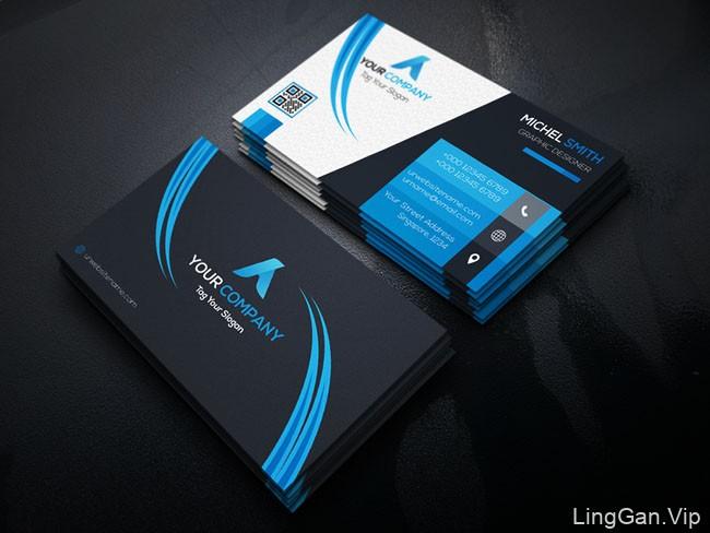 国外设计师Md Eyasin商务名片模版设计