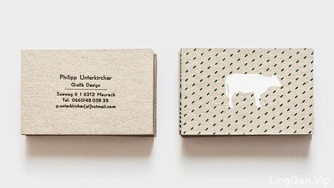 奥地利设计师Philipp个人创意名片设计