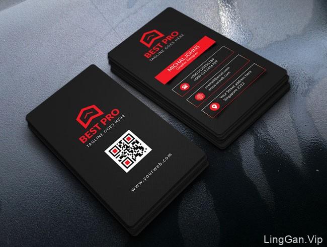国外设计师Md Masud商务名片模版设计案例