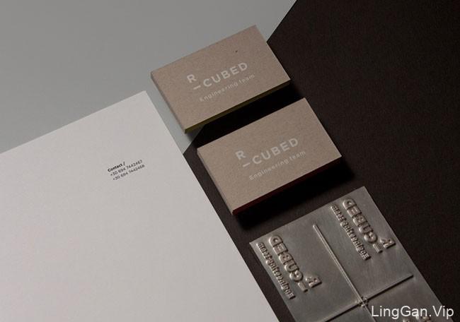 国外R-Cubed工程队名片设计作品