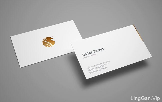 墨西哥设计师Javier Torres极简名片设计