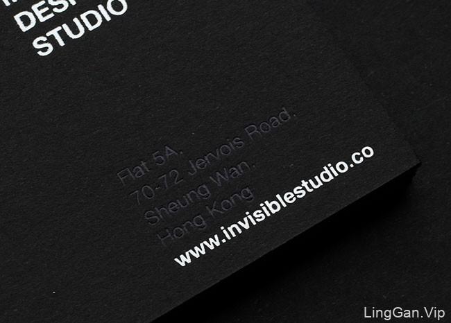 InvisibleDesignStudio室内公司名片设计