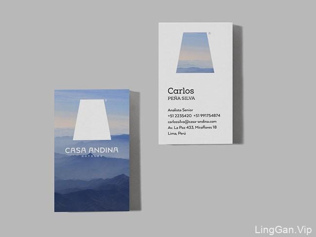 Casa Andina酒店新版名片设计