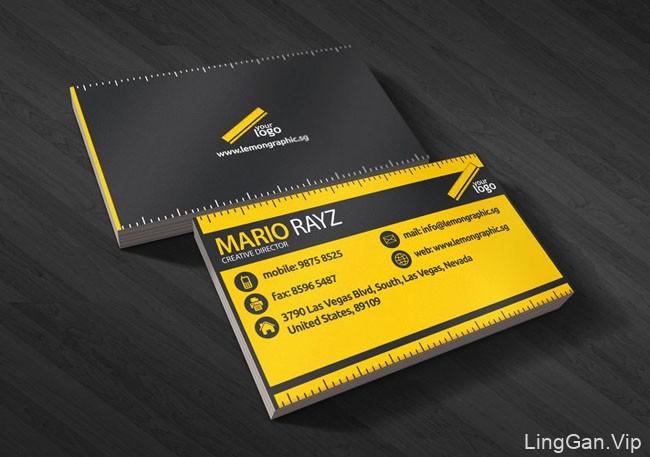 LemonGraphic名片设计与名片模板作品