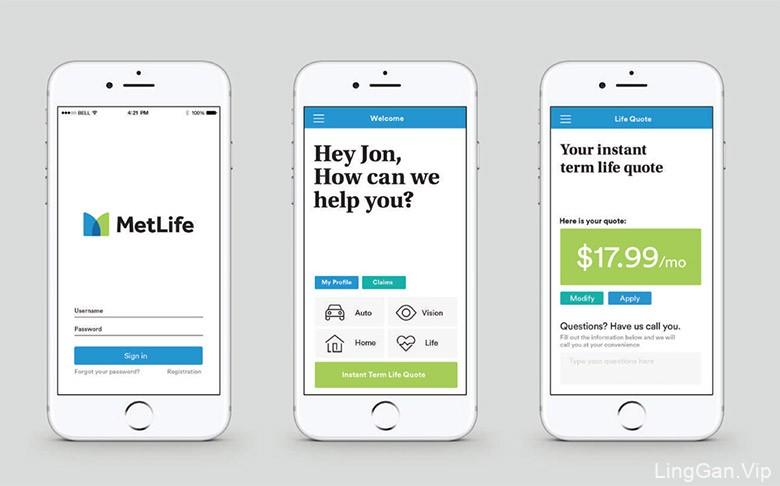 美国大都会人寿保险公司(MetLife)启用新LOGO